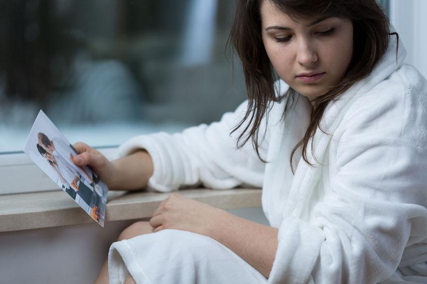 41613829 - close-up of teenage girl missing her ex-boyfriend