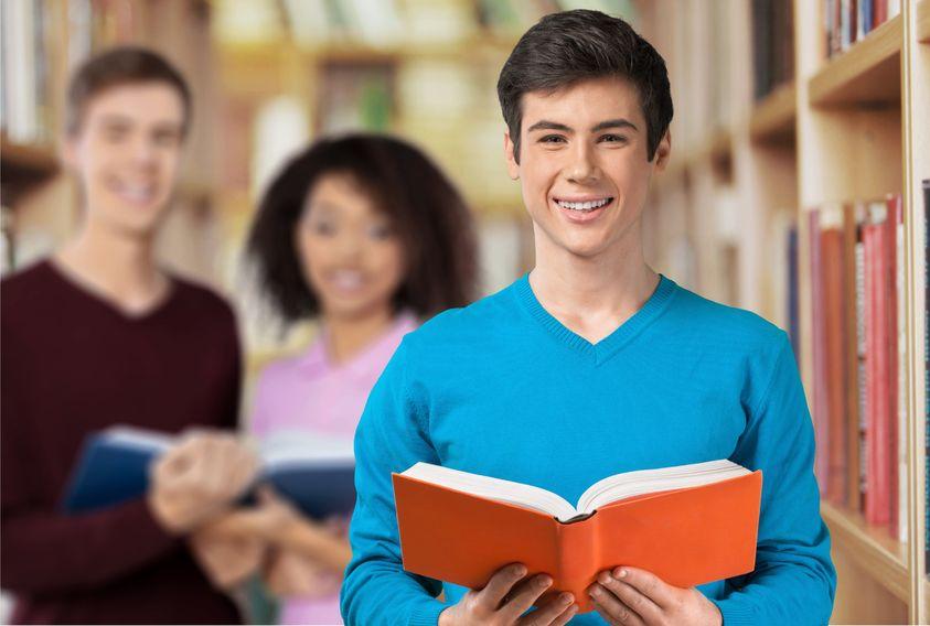42706483 - university, student, men.